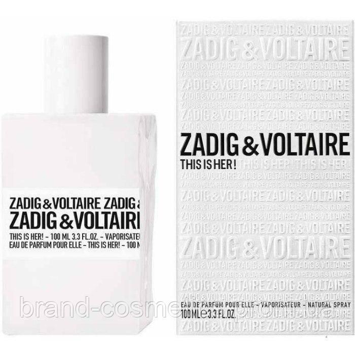 Жіноча парфумована вода Zadig & Voltaire This is Her (Euro)