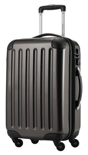4-колесный стильный большой чемодан из прочного пластика 87 л. HAUPTSTADTKOFFER alex midi graphite графитовый