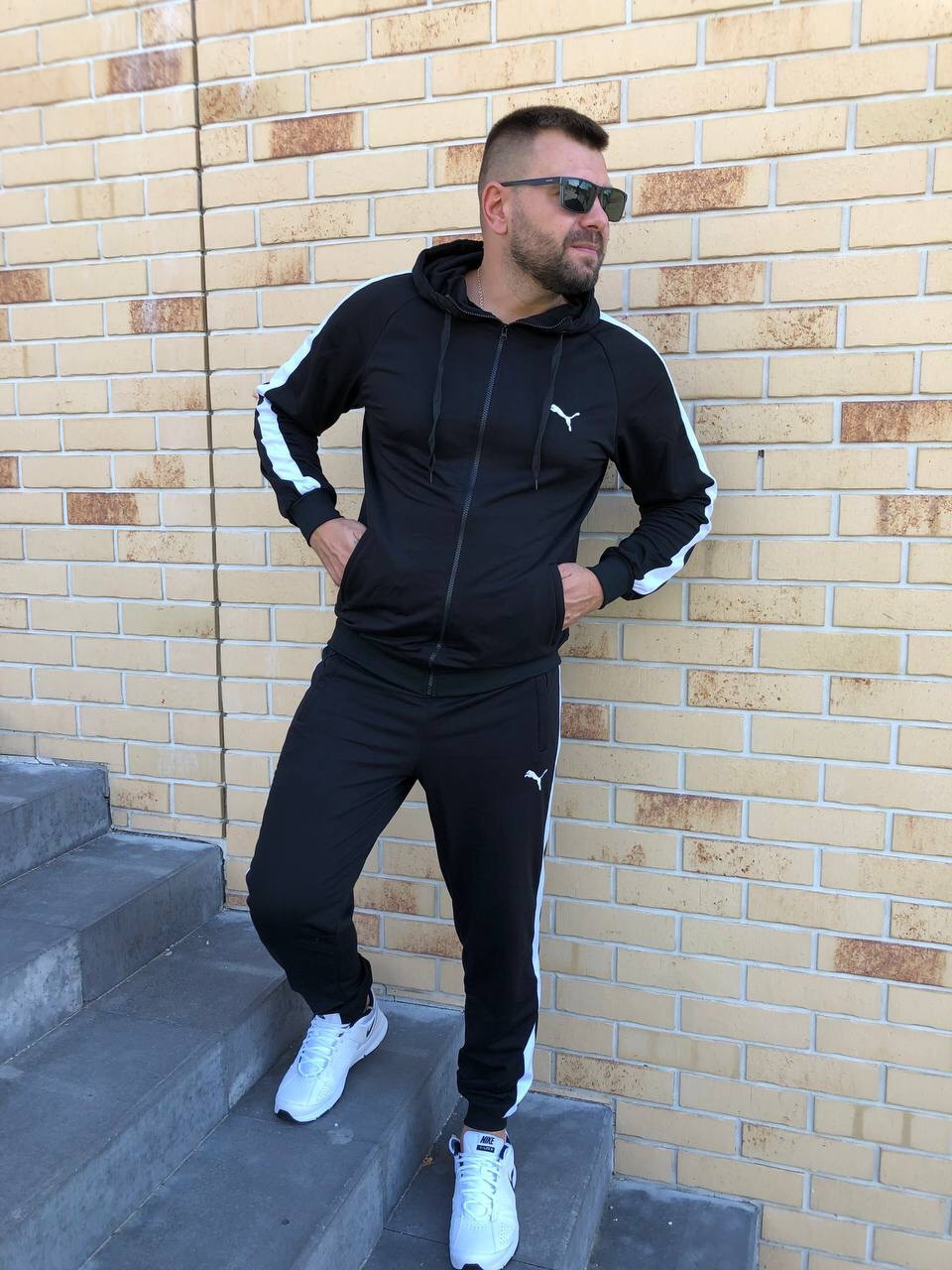 ХІТ 2021! Спортивний костюм Puma весна-осінь, спортивний костюм чоловічий
