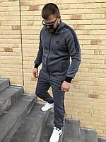 Спортивный костюм мужской Adidas Утепленный на флисе, фото 1