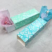 Коробка для macarons цветная 170х55х50 мм.