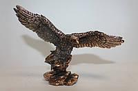 Сувенирная статуэтка орла с медным покрытием