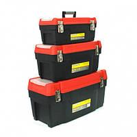 Набор ящиков для инструмента FORTE 3-1622 М-4