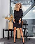 Вільне гарне плаття, ззаду на потаємний змійці, з кишенями з боків 50-52, 54-56, малина, пудра (Батал), фото 5