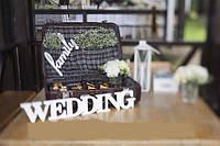 """Слова на свадьбу """"WEDDING"""""""