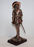 Статуетка Мушкетер з мідним покриттям 672