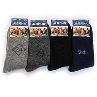 Мужские шерстяные носки с махрой Алия от 27.00 грн./пара (No.607)