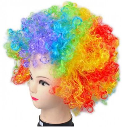 Парик Клоуна разноцветный