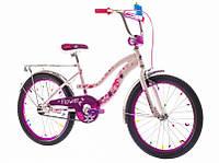 """Велосипед 20"""" Formula FLOWER  14G     St  розовый  2016"""