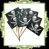 Набор Пиратские флажки для еды