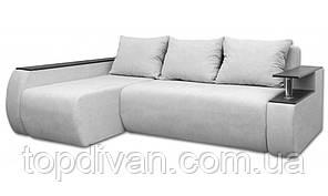 """Ортопедический угловой диван """"Гаспаро Премиум"""" ( Аляска 08) Габариты: 2,45 х 1,65  Спальное место: 2,00 х 1,60"""