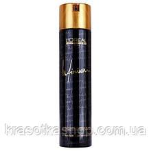 Лак для волосся екстрасильної фіксації 500мл L'oreal Professionnel Infinium Extra Fort-Extra Strong