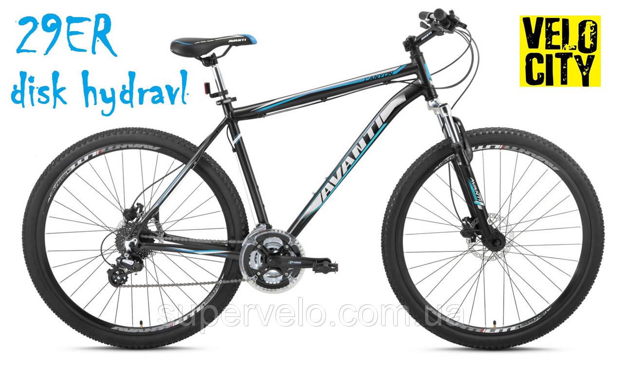 """Велосипед AVANTI CANYON 29"""" черно-синий, фото 1"""