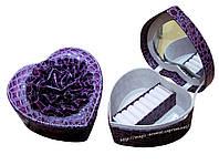 """Изящная шкатулка """"сердечко"""" - роскошный подарок к любому празднику или юбилею."""