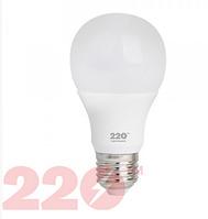 Лампа светодиодная LED А60 6W 220В Е27 4100К new 220 ТМ