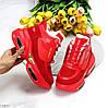 Круті яскраві червоні жіночі зимові кросівки снікерси в асортименті, фото 7