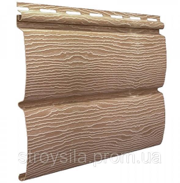Панель Сайдинга ″Тимбер-Блок″ Дуб Кантри натуральный 3,м*0,23м