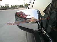 Хромированные накладки на зеркала Subaru Forester 2013+