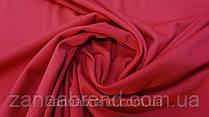 Трикотажная ткань джерси красно-малинового цвета
