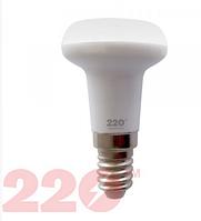 Лампа светодиодная LED R39 AL 4W 220В Е14  4100K new 220 ТМ