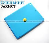 Голубой чехол книжка на Apple Ipad 10.2 (ipad 9/8/7) слот для стилуса ivanaks Pencil Holder, фото 7