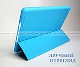 Голубой чехол книжка на Apple Ipad 10.2 (ipad 9/8/7) слот для стилуса ivanaks Pencil Holder, фото 8