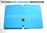 Голубой чехол книжка на Apple Ipad 10.2 (ipad 9/8/7) слот для стилуса ivanaks Pencil Holder, фото 4