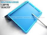 Голубой чехол книжка на Apple Ipad 10.2 (ipad 9/8/7) слот для стилуса ivanaks Pencil Holder, фото 5