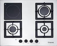 Perfelli Варочная поверхность Perfelli DESIGN HKM 6330 INOX SLIM LINE