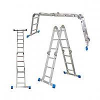 Шарнирная лестница WERK 4x3 LC2412