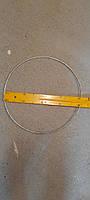 Кільце з оцинкованого дроту 5 мм, діаметр 40 см з кріпленням, фото 1