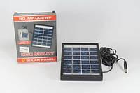 Солнечная панель Solar board 2W-6V + mob. Charger с возможностью заряжать мобильный телефон, солнечная зарядка