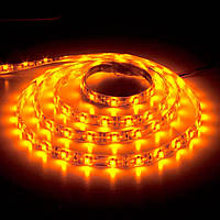 Светодиодная лента LS603/ SANAN LED-RL 60SMD(3528)/m 4.8W/m 12V 5m*8*0.22mm желтый IP20, Feron