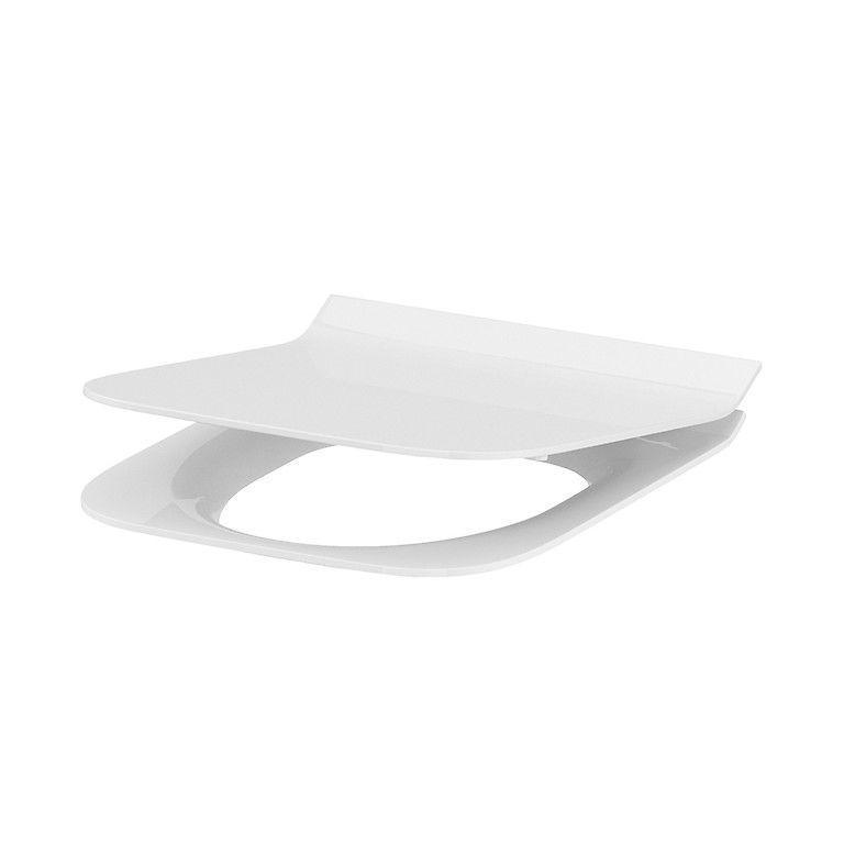 Сиденье для унитаза Cersanit CREA прямоугольное дюропл. лифт, легкосъемное SLIM