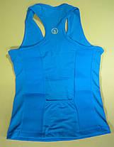 Майка блакитна для фітнесу (схуднення) HOT SHAPERS, фото 2
