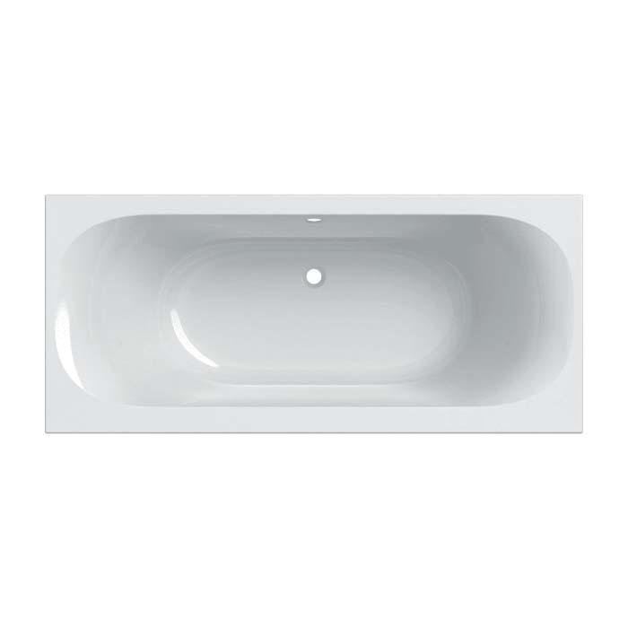 SOANA Slim rim, Duo ванна 180*80см, прямокутна, з ніжками