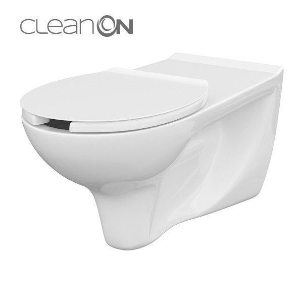 Унітаз ETUDA CLEAN ON підвісний для людей з обмеженими можливостями