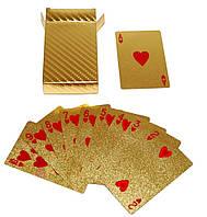 Карты игральные золото