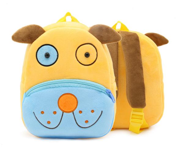 Рюкзак детский в виде животного собака щенок