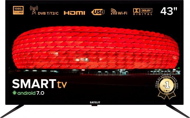 Телевізор Satelit 43F9000ST