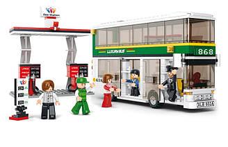 Конструктор SLUBAN М38-В0331 Двухэтажный Автобус