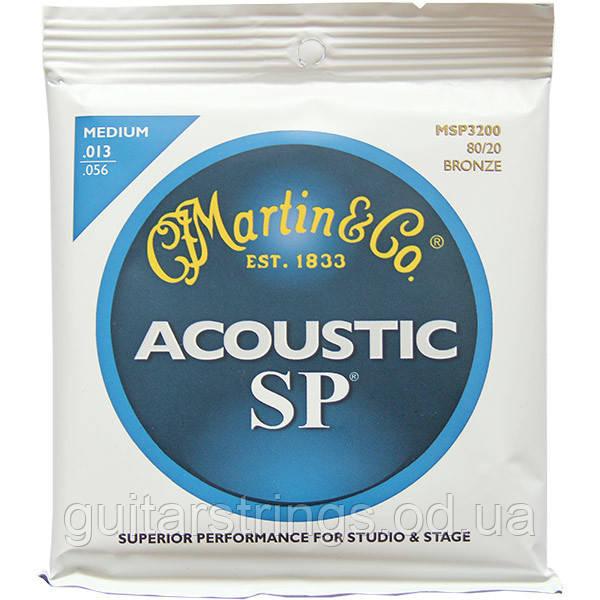 Струны Martin MSP3200 SP Bronze 80/20Medium13-56
