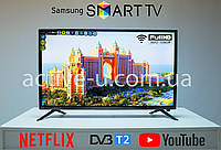 "Телевизор Smart TV Samsung 32"" дюйма FullHD, Android 9.0, Смарт тв, WiFi, T2 Телевізор самсунг гарантия"