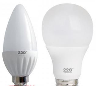 Светодиодные led лампы 220 ТМ