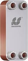 SECESPOL LA 14-20 (20 -40кВт) пластинчатый паяный теплообменник