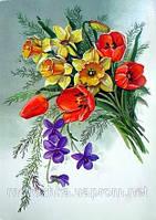 Тюльпаны с нарцисами