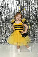 Детский праздничный костюм для девочки Пчелка от 3 до 7 лет