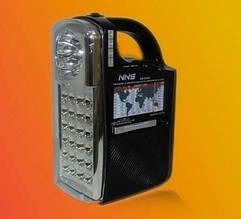 Радиоприемник-фонарь NS-040  *1310