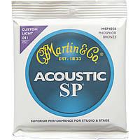 Струны Martin MSP4050 SP PhosphorBronze 92/8 Custom Light11-52, фото 1