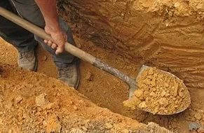 Разработка грунта вручную